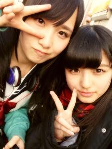 Juri (Mutsumi) et Nana (Maiko)